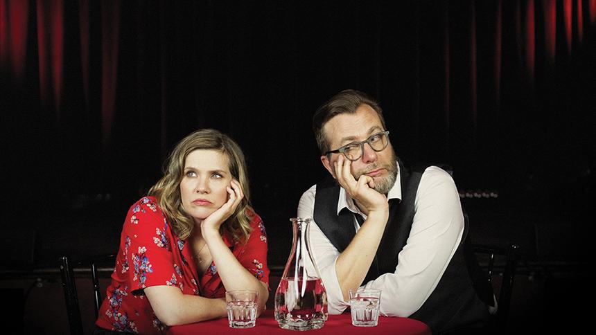 Andrea Lindsay et Luc De Larochellière
